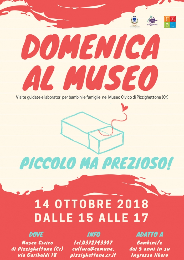 e4e2368f2b60 Domenica 14 ottobre riprenderanno le ormai note Domeniche al Museo